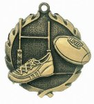 Wreath Rugby Medal All Trophy Awards