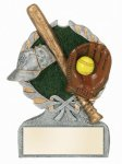Softball Multi Color Sport Resin Figure All Trophy Awards