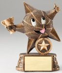 My Lil' Star Resin Trophy -Basketball Basketball Trophy Awards