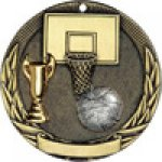 Tri-Colored Series Medals -Basketball Basketball Trophy Awards