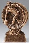 Bowling Resin Trophy, Male Bowling Trophy Awards