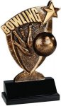 Broadcast Resin -Bowling Bowling Trophy Awards