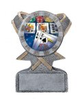Action Sport Mylar Holder Cheerleading Trophy Awards