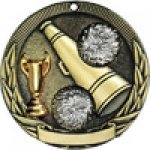 Tri-Colored Series Medals -Cheerleading Cheerleading Trophy Awards