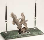 Marble Desk Sets Eagle Awards