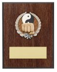 Karate Resin Plaque Mount Award Economy Plaques