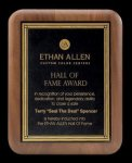 Plaque with Diamond Plate Award Employee Awards