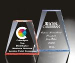 Beveled Wedge Acrylic Award Employee Awards