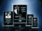 Back Beveled Black Painted Plaque Employee Awards