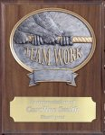 Teamwork Resin Plaque Mount Award Equestrian Trophy Awards
