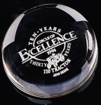Dome Paper Weight Executive Gift Awards