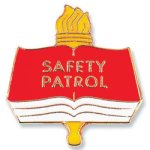 Safety Patrol Lapel Pin Fire and Safety Awards