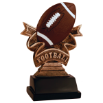 Ribbon Resin -Football Football Trophy Awards
