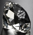 Diamond Paper Weight Gift Awards