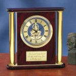 Large Clock with Exposed Gears Gift Awards