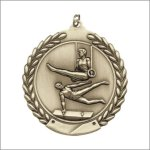 Die Cast Medal - Gymnastics, Male Gymnastics Trophy Awards