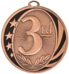 MidNite Star Medal -3rd Place  Gymnastics Trophy Awards