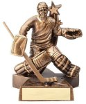 Resin Hockey Goalie Hockey Trophy Awards