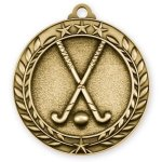 Wreath Medal -Field Hockey Hockey Trophy Awards