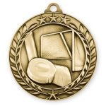 Wreath Award Medallion -Hockey Hockey Trophy Awards