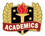 Academic Excellence Pin Lapel Pins