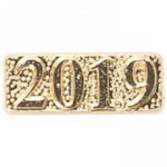 Chenille Year Date Pins Lapel Pins