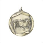 Scholastic Medal - Music Note Music Trophy Awards