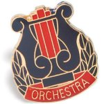 Orchestra Lapel Music Trophy Awards