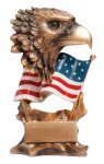 Resin Eagle Patriotic Awards