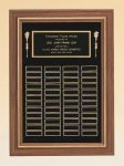American Walnut Frame Perpetual Plaque Religious Awards