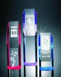 Slant Face Tower Acrylic Award Religious Awards