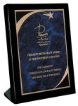 Piano Finish Black Stand Up Plaque  Sales Awards