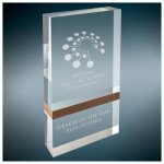 Wood Band Capri Acrylic Sales Awards