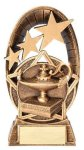 Radiant Series Resin Trophy -Lamp of Knowledge Scholastic Trophy Awards