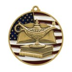 PM Medal -Book & Lamp  Scholastic Trophy Awards