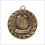 Scholastic Medal - Perfect Attendance Scholastic Trophy Awards