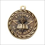 Scholastic Medal - Student of the Month Scholastic Trophy Awards