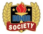 Honor Society Pin Scholastic Trophy Awards