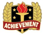 Achievement Pin Scholastic Trophy Awards