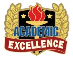Academic Excellence Pin Scholastic Trophy Awards
