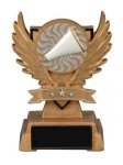 Cheer Victory Wing Resin Figure  Scholastic Trophy Awards