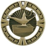 BG Series Medal Awards -Lamp of Knowledge Scholastic Trophy Awards