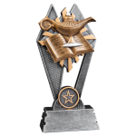 Sun Ray Resin -Lamp of Knowledge Scholastic Trophy Awards