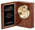 Wood Desk Clock Secretary Gift Awards