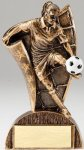 USA Flag Series Resin Trophy -Soccer Female  Soccer Trophy Awards