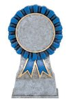 Color Ribbon Resin Mylar Holder Soccer Trophy Awards
