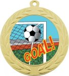 Wreath Medal -Insert Holder Soccer Trophy Awards