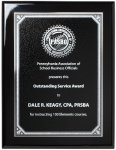 Ebony Piano Finish Plaque Square Rectangle Awards