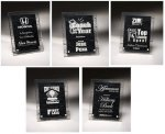 Leadership Theme Acrylic Award Plaques Square Rectangle Awards