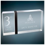 Black Band Capri Acrylic Square Rectangle Awards